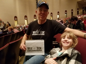 Jared attended Bolero, Bernstein and Barber - Presented by the Wichita Symphony on Feb 18th 2018 via VetTix