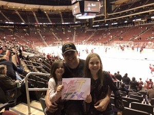 Rodney attended Arizona Coyotes vs. Dallas Stars - NHL on Feb 1st 2018 via VetTix