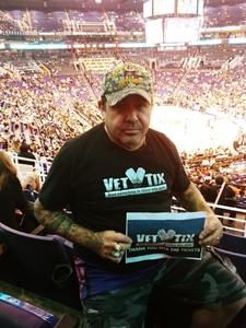 Hector M. attended Arizona Coyotes vs. Dallas Stars - NHL on Feb 1st 2018 via VetTix