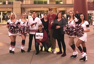 Maurisa attended Arizona Coyotes vs. Dallas Stars - NHL on Feb 1st 2018 via VetTix