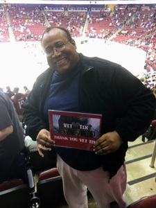 Cliff attended Arizona Coyotes vs. Dallas Stars - NHL on Feb 1st 2018 via VetTix