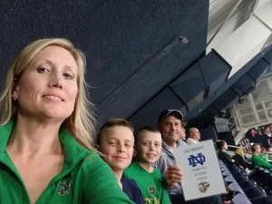 Click To Read More Feedback from Notre Dame Fighting Irish vs. Pittsburgh - NCAA Men's Basketball