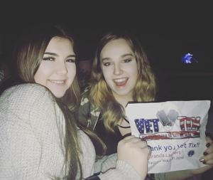 Jason attended Miranda Lambert Livin Like Hippies Tour on Feb 1st 2018 via VetTix