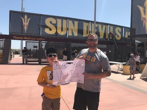 Click To Read More Feedback from Arizona State Sun Devils vs. USC - NCAA Men's Baseball - Sunday