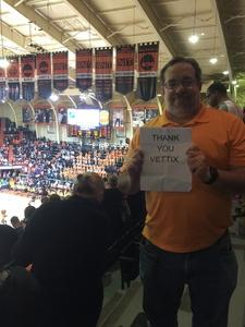 Jeffery attended Oregon State University Beavers vs. Washington - NCAA Men's Basketball on Feb 10th 2018 via VetTix