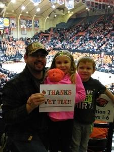 jacob attended Oregon State University Beavers vs. Washington - NCAA Men's Basketball on Feb 10th 2018 via VetTix
