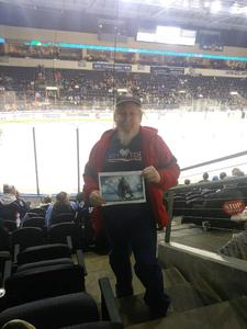 kevin attended Kansas City Mavericks vs. Cincinnati Cyclones - ECHL on Feb 2nd 2018 via VetTix