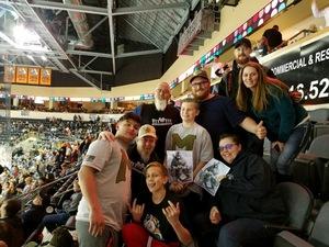 kevin attended Kansas City Mavericks vs. Florida Everblades - ECHL on Feb 18th 2018 via VetTix