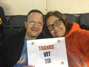 Mark A attended Kansas City Mavericks vs. Florida Everblades - ECHL on Feb 18th 2018 via VetTix