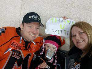 Mat attended Kansas City Mavericks vs. Allen Americans on Feb 23rd 2018 via VetTix