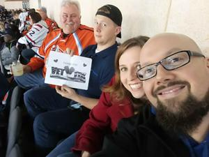 William attended Kansas City Mavericks vs. Allen Americans on Feb 23rd 2018 via VetTix
