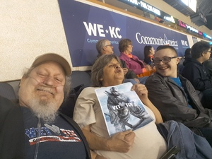 kevin attended Kansas City Mavericks vs. Allen Americans on Feb 23rd 2018 via VetTix