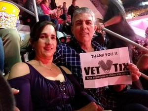 Ricardo attended George Strait - Live in Vegas - Friday Night on Feb 2nd 2018 via VetTix