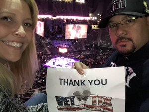 Joe attended George Strait - Live in Vegas - Friday Night on Feb 2nd 2018 via VetTix
