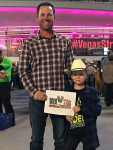 Click To Read More Feedback from George Strait - Live in Vegas - Saturday Night