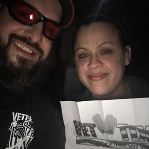 James attended Kid Rock With a Thousand Horses - American Rock N' Roll Tour on Feb 3rd 2018 via VetTix