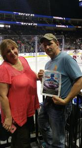 Chris attended Jacksonville Icemen vs. Allen Americans - ECHL on Feb 11th 2018 via VetTix