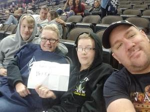 Mark attended Jacksonville Icemen vs. Allen Americans - ECHL on Feb 11th 2018 via VetTix
