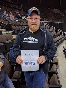 Timothy attended Jacksonville Icemen vs. Brampton Beast - ECHL on Feb 25th 2018 via VetTix