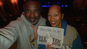 Leonard attended G3: Joe Satriani, John Petrucci (dream Theater), Phil Collen (def Leppard) on Feb 12th 2018 via VetTix