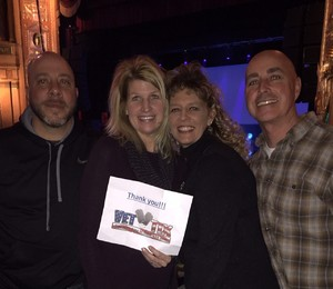 Kay attended G3: Joe Satriani, John Petrucci (dream Theater), Phil Collen (def Leppard) on Feb 12th 2018 via VetTix