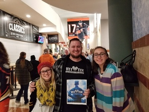 Blake attended Anaheim Ducks vs. Edmonton Oilers - NHL - Antis Roofing Community Corner! on Feb 9th 2018 via VetTix