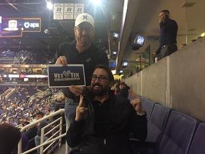 Todd attended Phoenix Suns vs. San Antonio Spurs - NBA on Feb 7th 2018 via VetTix