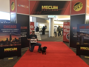 Greg attended Mecum Auctions 2018 - Good for One Day on Mar 16th 2018 via VetTix
