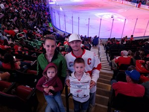Mike Tree attended Florida Panthers vs. Detroit Red Wings - NHL on Feb 3rd 2018 via VetTix