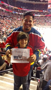 Ingrid attended Florida Panthers vs. Detroit Red Wings - NHL on Feb 3rd 2018 via VetTix