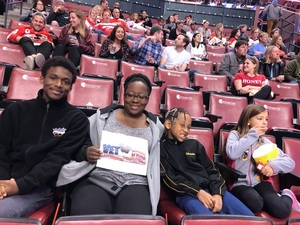 Amy attended Florida Panthers vs. Detroit Red Wings - NHL on Feb 3rd 2018 via VetTix