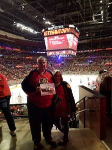Brent attended Florida Panthers vs. Detroit Red Wings - NHL on Feb 3rd 2018 via VetTix
