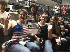 chelsea attended Miranda Lambert Livin Like Hippies Tour on Feb 15th 2018 via VetTix