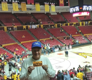 Michael attended Arizona State University Sun Devils vs. Stanford - NCAA Men's Basketball on Mar 3rd 2018 via VetTix