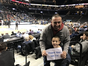 Lorenzo attended 2018 ACC Men's Basketball Tournament - 12pm & 2pm Session on Mar 6th 2018 via VetTix