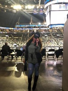 Jonella attended 2018 ACC Men's Basketball Tournament - 12pm & 2pm Session on Mar 6th 2018 via VetTix