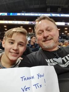 John attended 2018 ACC Men's Basketball Tournament - 12pm & 2pm Session on Mar 6th 2018 via VetTix