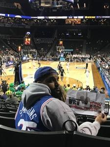 kenon attended 2018 ACC Men's Basketball Tournament - 12pm & 2pm Session on Mar 6th 2018 via VetTix