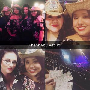 Cecilia attended Miranda Lambert Livin Like Hippies Tour on Feb 10th 2018 via VetTix