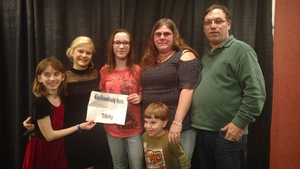 Paul attended Darci Lynne and Friends Live - VIP Meet and Greet on Feb 11th 2018 via VetTix