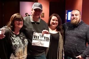 Dan H. attended Darci Lynne and Friends Live - VIP Meet and Greet on Feb 11th 2018 via VetTix