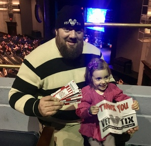 Jeremy attended Darci Lynne and Friends Live - VIP Meet and Greet on Feb 11th 2018 via VetTix
