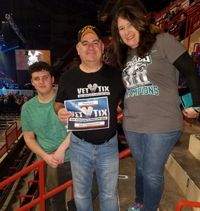 David attended NRA Country Concert Featuring Granger Smith and Locash With Special Guests Earl Dibbles, Jr. And Nate Hosie on Feb 10th 2018 via VetTix