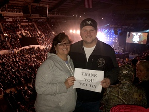 Tyler attended NRA Country Concert Featuring Granger Smith and Locash With Special Guests Earl Dibbles, Jr. And Nate Hosie on Feb 10th 2018 via VetTix