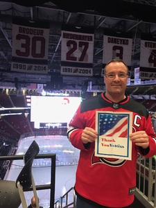 Anthony attended New Jersey Devils vs. Boston Bruins - NHL on Feb 11th 2018 via VetTix