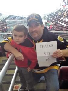 TODD attended New Jersey Devils vs. Boston Bruins - NHL on Feb 11th 2018 via VetTix