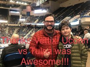 Click To Read More Feedback from UCONN Huskies vs. Tulsa - NCAA Men's Basketball