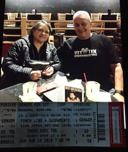 Albert attended There Goes the Neighborhood Comedy Tour on Mar 18th 2018 via VetTix