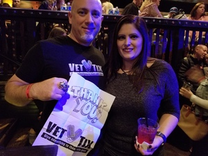 Brett attended Steel Panther - Standing Room Only on Feb 24th 2018 via VetTix