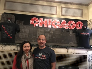 Click To Read More Feedback from Chicago the Musical - Tuesday